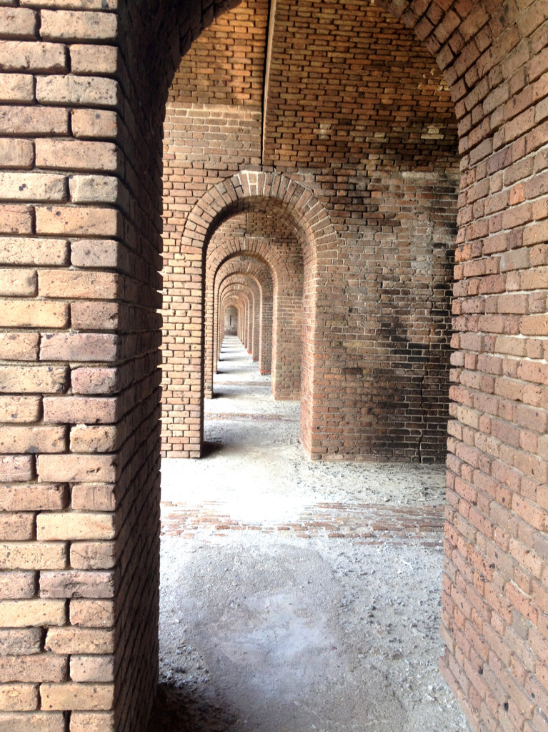 archway, Dry Tortugas, National Park, Key West, Blue water, Beautiful Islands, ccuriosity.com