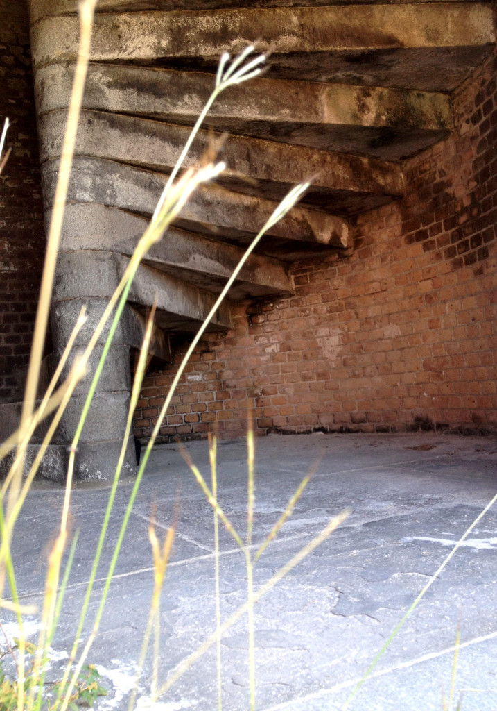 stairs, Dry Tortugas, National Park, Key West, Blue water, Beautiful Islands, ccuriosity.com