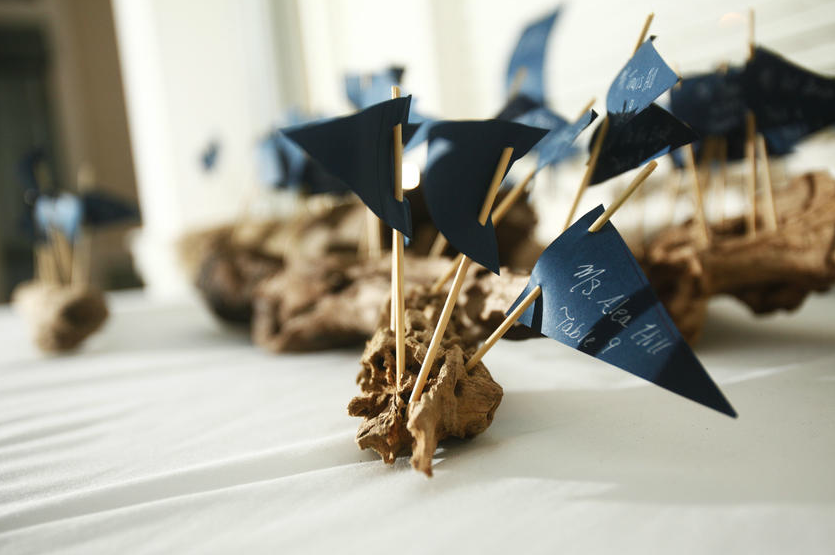 Nautical Wedding Seating Chart, Nautical Wedding, Matt McGraw Photography,  CCuriosity.com